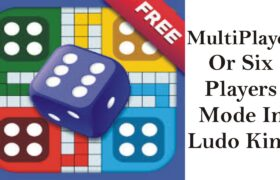 MultiPlayer Or Six Players Mode In Ludo King