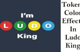 Tokens color effects in ludo king
